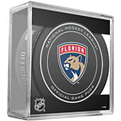 Sher-Wood Florida Panthers 100th Anniversary Puck