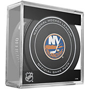 Sher-Wood New York Islanders 100th Anniversary Puck