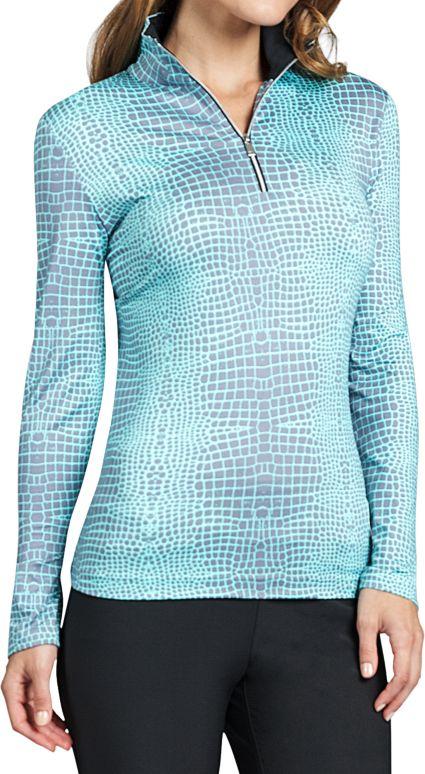 Tail Women's Long Sleeve ¼-Zip Golf Pullover