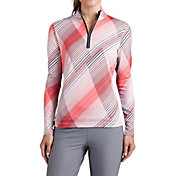 Tail Women's Printed ¼-Zip Golf Pullover