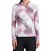 Tail Women's Printed 1/4-Zip Golf Top