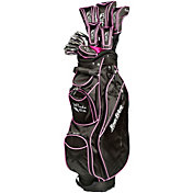 Tour Edge Women's Moda Silk 17-Piece Complete Set – (Graphite)