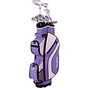 Tour Edge Women's Reaction 3 14-Piece Complete Set – Purple/White