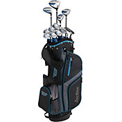 Tour Edge Junior Bazooka 360 Varsity 15-Piece Complete Set – Black/Blue