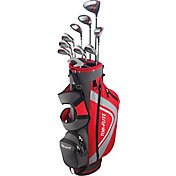 Top Flite 2018 XL 13-Piece Complete Set – (Graphite/Steel) – Red