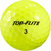 Top Flite D2+ Feel Yellow Golf Balls ? 15 Pack