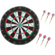 Hey! Play! Double Sided Flocking Dartboard
