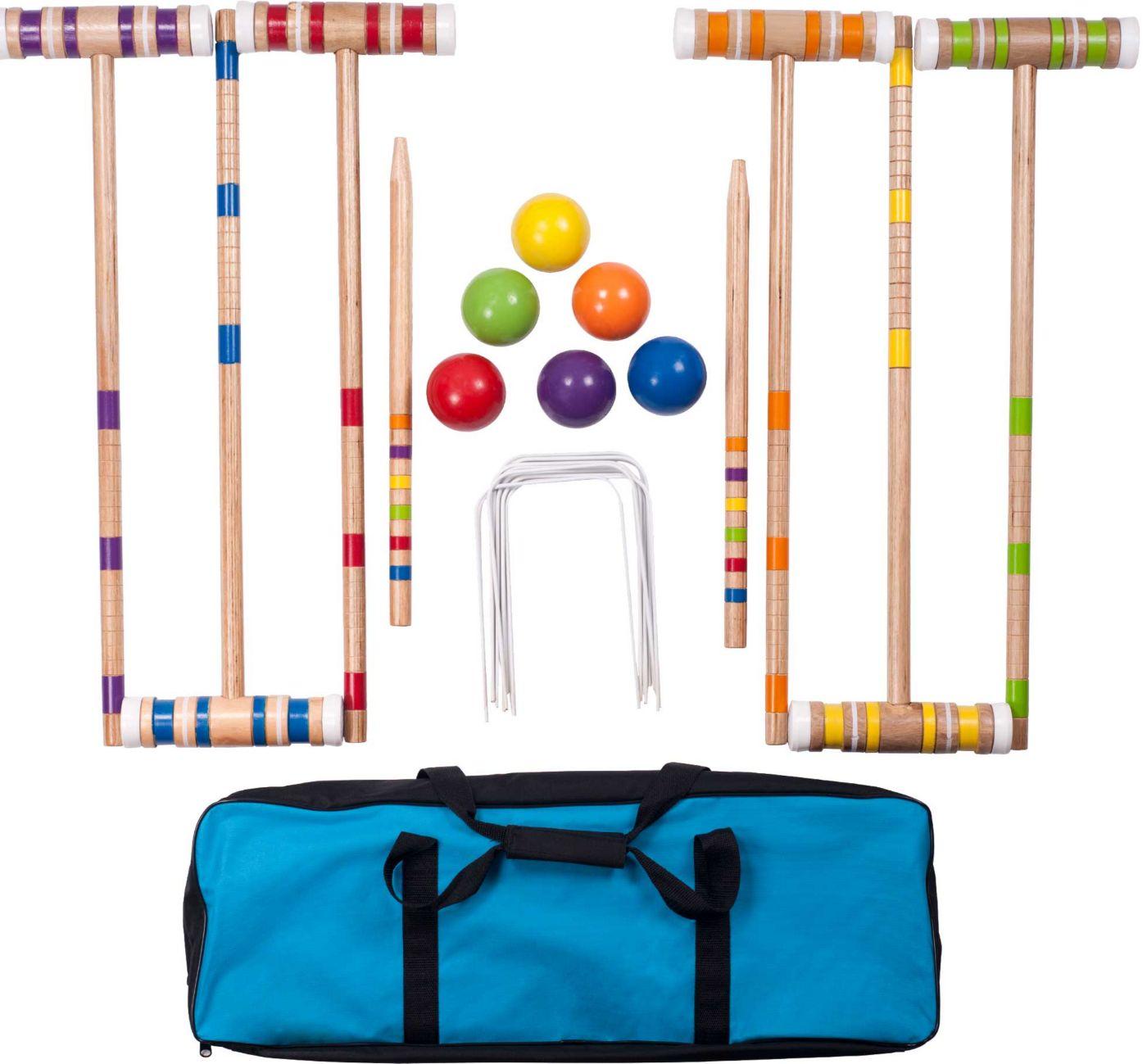 Hey! Play! Complete Croquet Set
