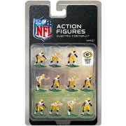 Tudor Games Green Bay Packers White Uniform NFL Action Figure Set