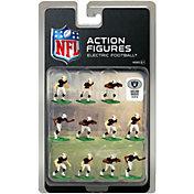 Tudor Games Oakland Raiders Dark Uniform NFL Action Figure Set