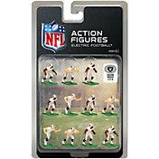 Tudor Games Oakland Raiders White Uniform NFL Action Figure Set