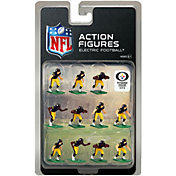 Tudor Games Pittsburgh Steelers Dark Uniform NFL Action Figure Set