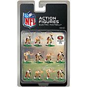 Tudor Games San Francisco 49ers White Uniform NFL Action Figure Set