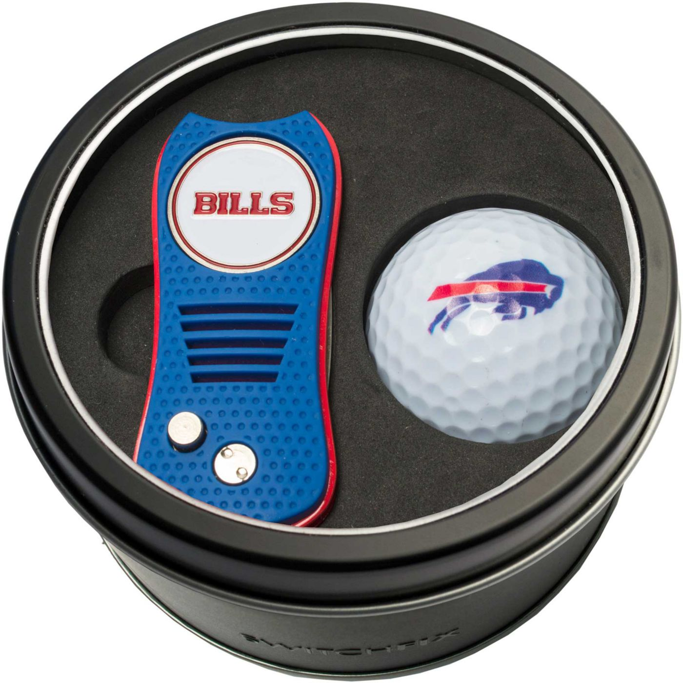 Team Golf Buffalo Bills Switchfix Divot Tool and Golf Ball Set
