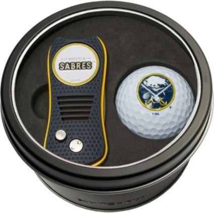 Team Golf Buffalo Sabres Switchfix Divot Tool and Golf Ball Set