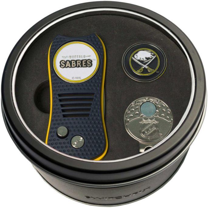 0e333029 Team Golf Buffalo Sabres Switchfix Divot Tool and Cap Clip Set ...