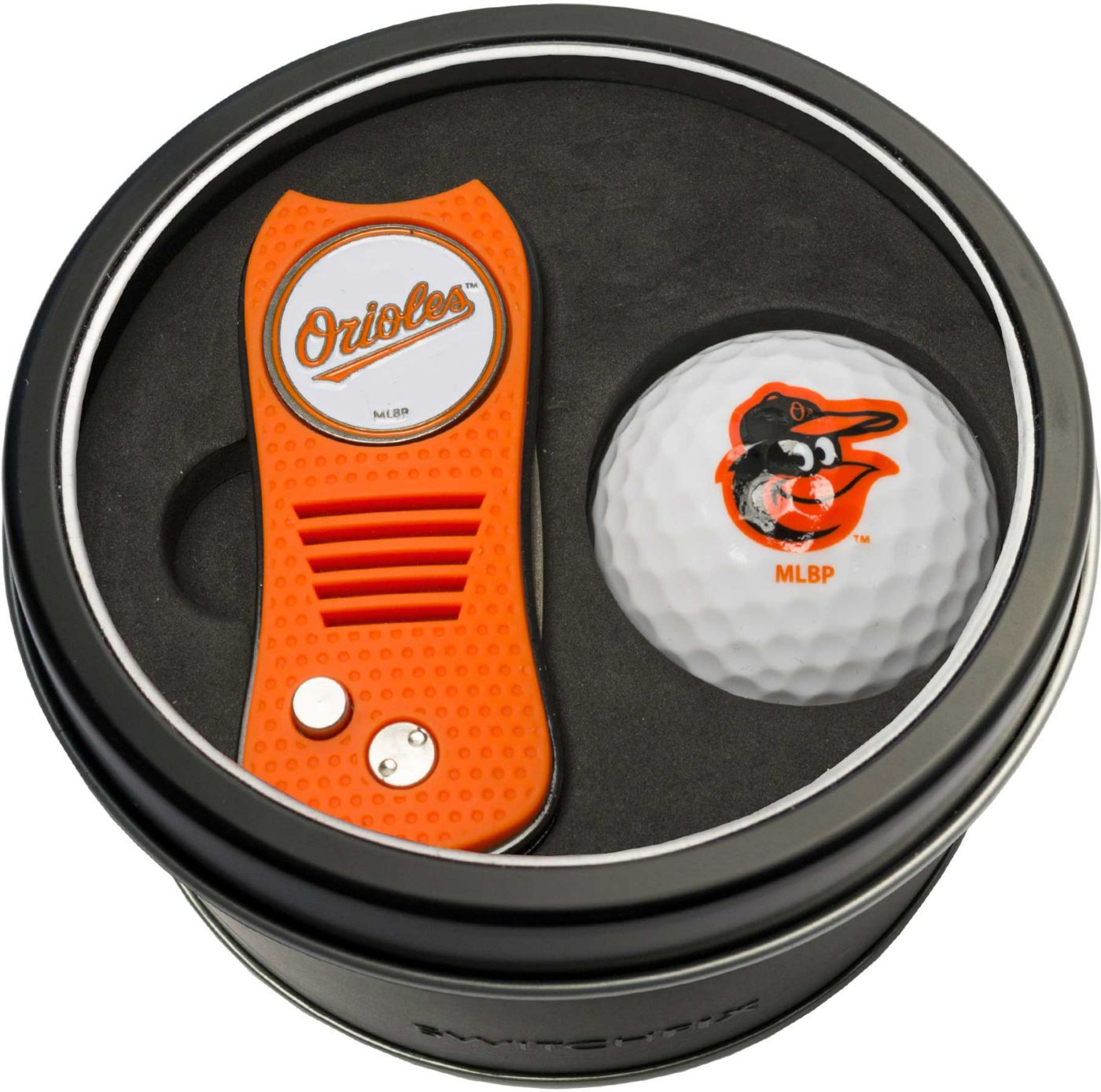 Team Golf Baltimore Orioles Switchfix Divot Tool and Golf Ball Set