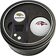 Team Golf Baltimore Ravens Switchfix Divot Tool and Golf Ball Set