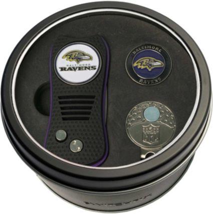 Team Golf Baltimore Ravens Switchfix Divot Tool and Cap Clip Set