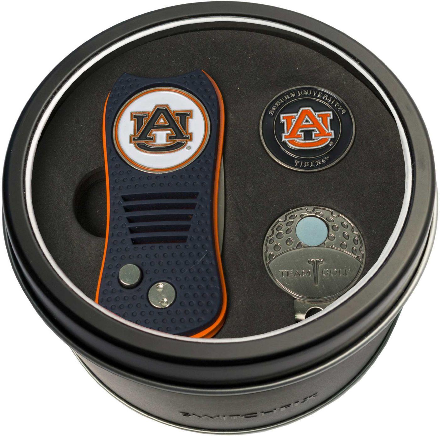 Team Golf Auburn Tigers Switchfix Divot Tool and Cap Clip Set