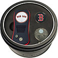 Team Golf Boston Red Sox Switchfix Divot Tool and Cap Clip Set