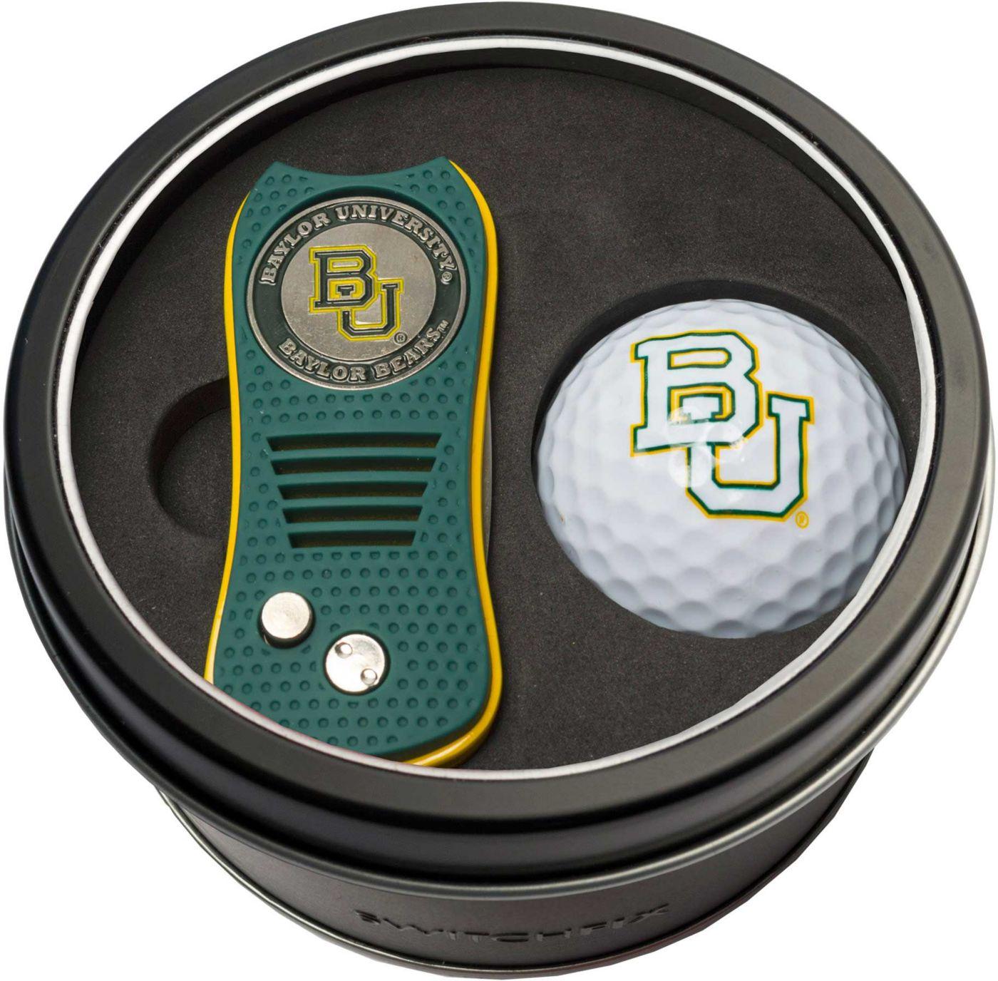 Team Golf Baylor Bears Switchfix Divot Tool and Golf Ball Set