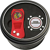 Team Golf Chicago Blackhawks Switchfix Divot Tool and Poker Chip Ball Marker Set