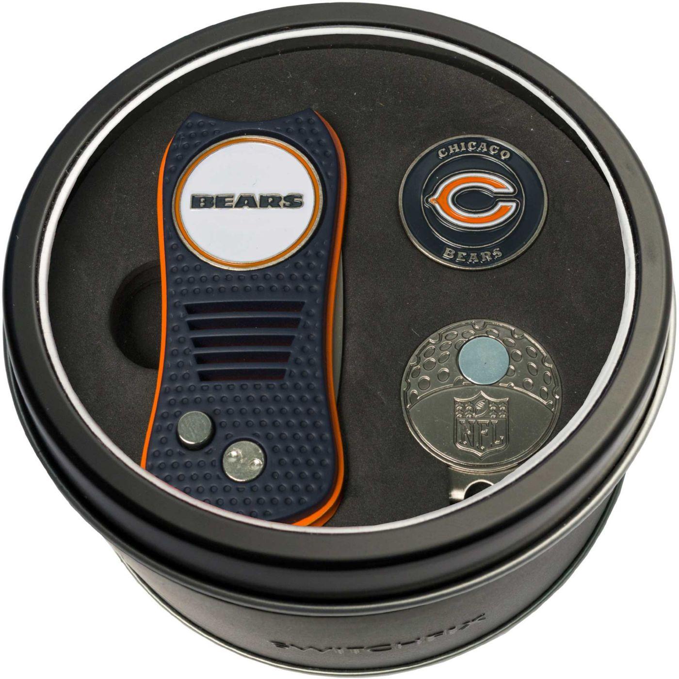 Team Golf Chicago Bears Switchfix Divot Tool and Cap Clip Set