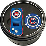 Team Golf Chicago Cubs Switchfix Divot Tool and Poker Chip Ball Marker Set