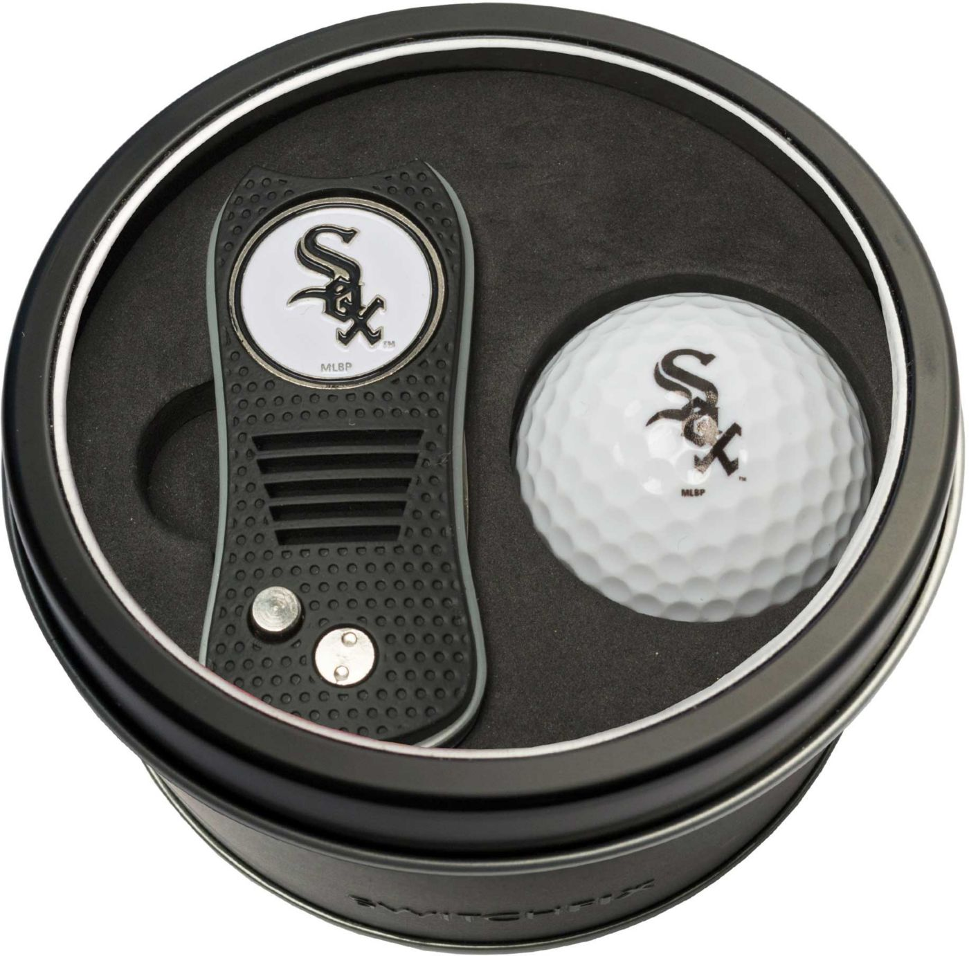 Team Golf Chicago White Sox Switchfix Divot Tool and Golf Ball Set