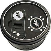 Team Golf Chicago White Sox Switchfix Divot Tool and Poker Chip Ball Marker Set