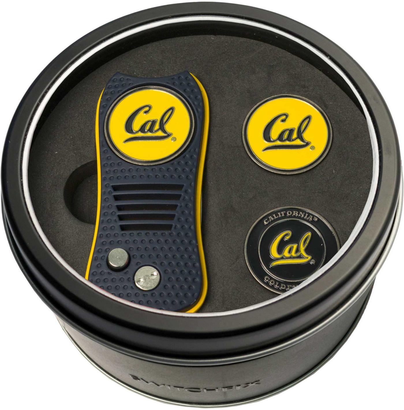 Team Golf CalBears Switchfix Divot Tool and Ball Markers Set