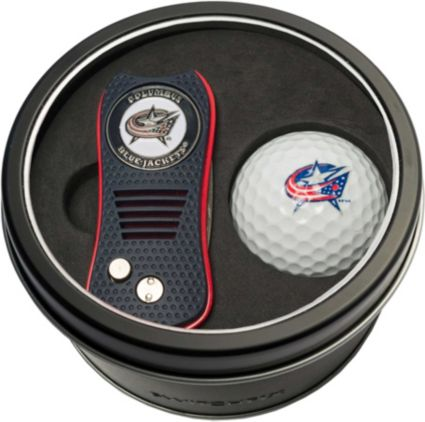 Team Golf Columbus Blue Jackets Switchfix Divot Tool and Golf Ball Set
