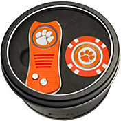 Team Golf Clemson Tigers Switchfix Divot Tool and Poker Chip Ball Marker Set