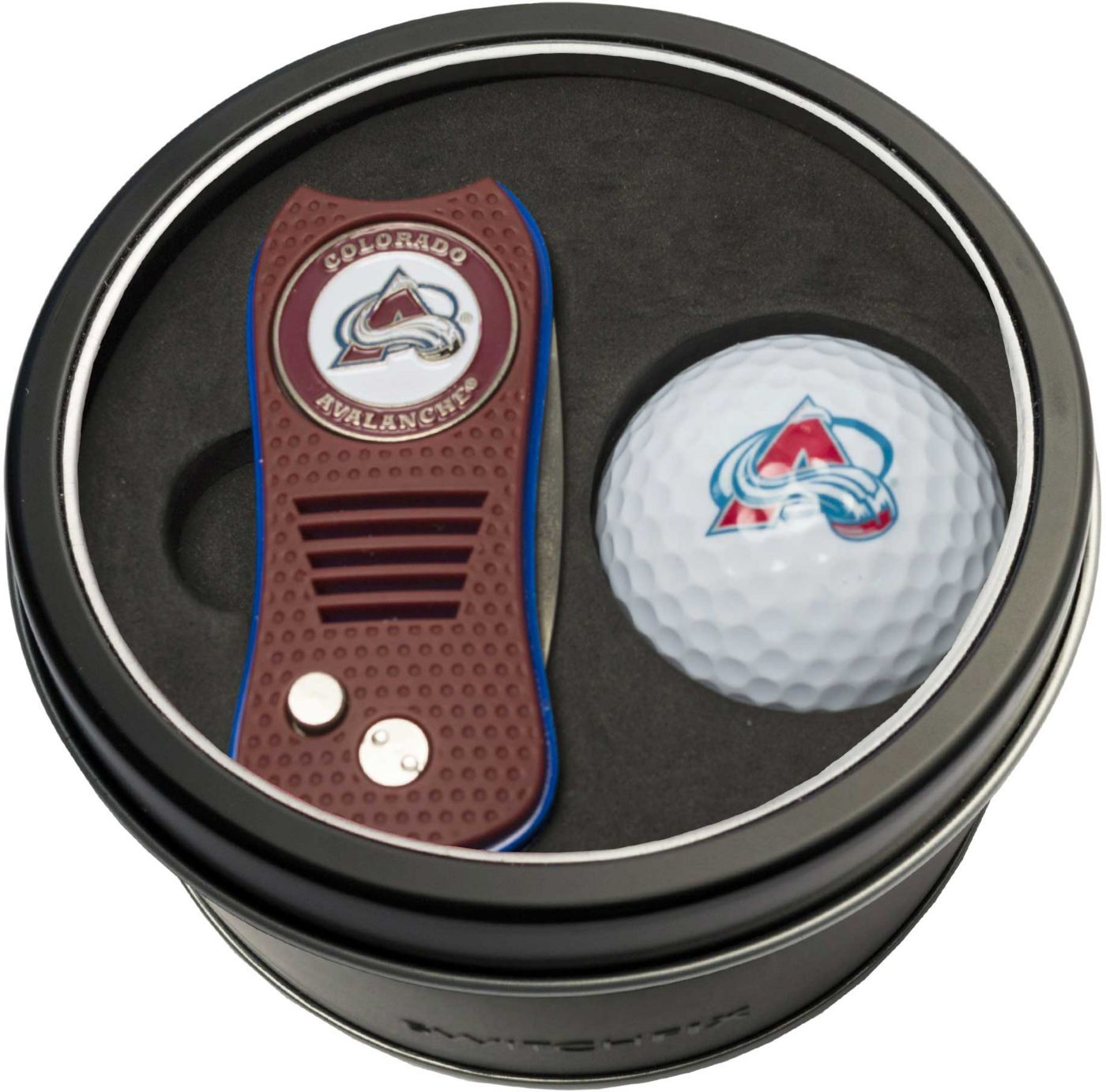 Team Golf Colorado Avalanche Switchfix Divot Tool and Golf Ball Set