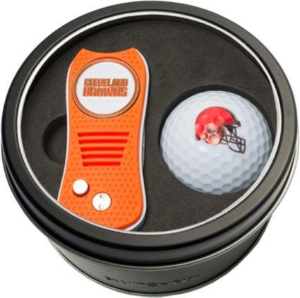 Team Golf Cleveland Browns Switchfix Divot Tool and Golf Ball Set