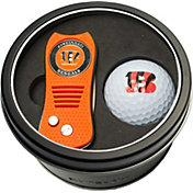 Team Golf Cincinnati Bengals Switchfix Divot Tool and Golf Ball Set