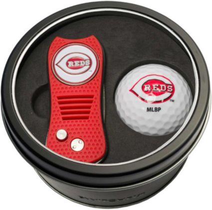 Team Golf Cincinnati Reds Switchfix Divot Tool and Golf Ball Set