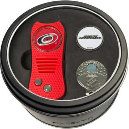 Team Golf Carolina Hurricanes Switchfix Divot Tool and Cap Clip Set