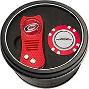 Team Golf Carolina Hurricanes Switchfix Divot Tool and Poker Chip Ball Marker Set