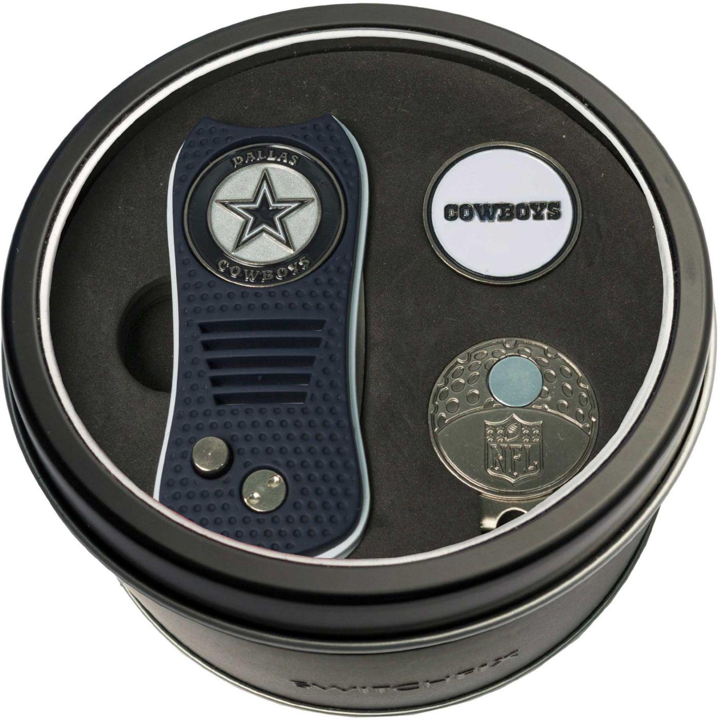 Team Golf Dallas Cowboys Switchfix Divot Tool and Cap Clip Set