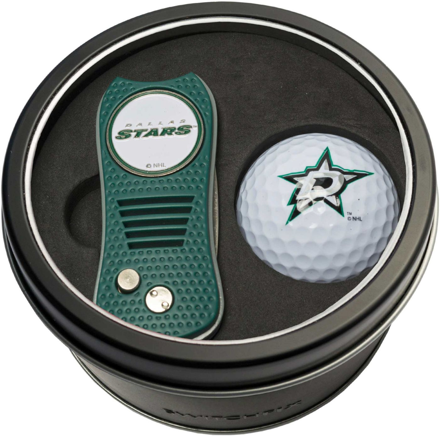 Team Golf Dallas Stars Switchfix Divot Tool and Golf Ball Set