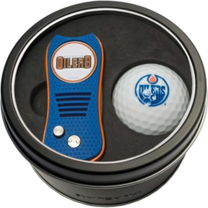 Team Golf Edmonton Oilers Switchfix Divot Tool and Golf Ball Set