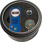 Team Golf Edmonton Oilers Switchfix Divot Tool and Cap Clip Set