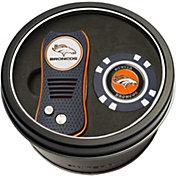Team Golf Denver Broncos Switchfix Divot Tool and Poker Chip Ball Marker Set