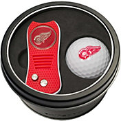 Team Golf Detroit Red Wings Switchfix Divot Tool and Golf Ball Set