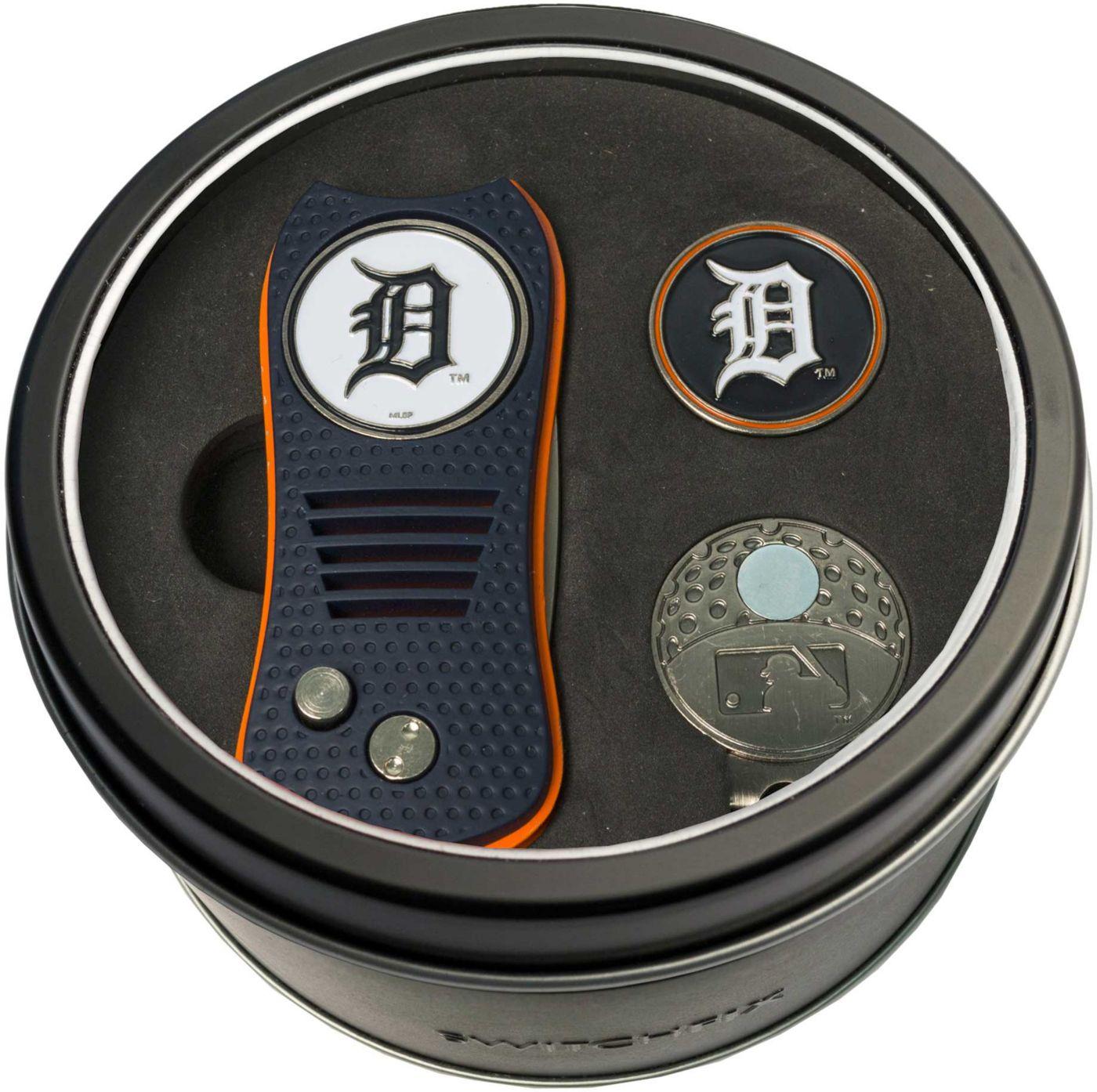 Team Golf Detroit Tigers Switchfix Divot Tool and Cap Clip Set