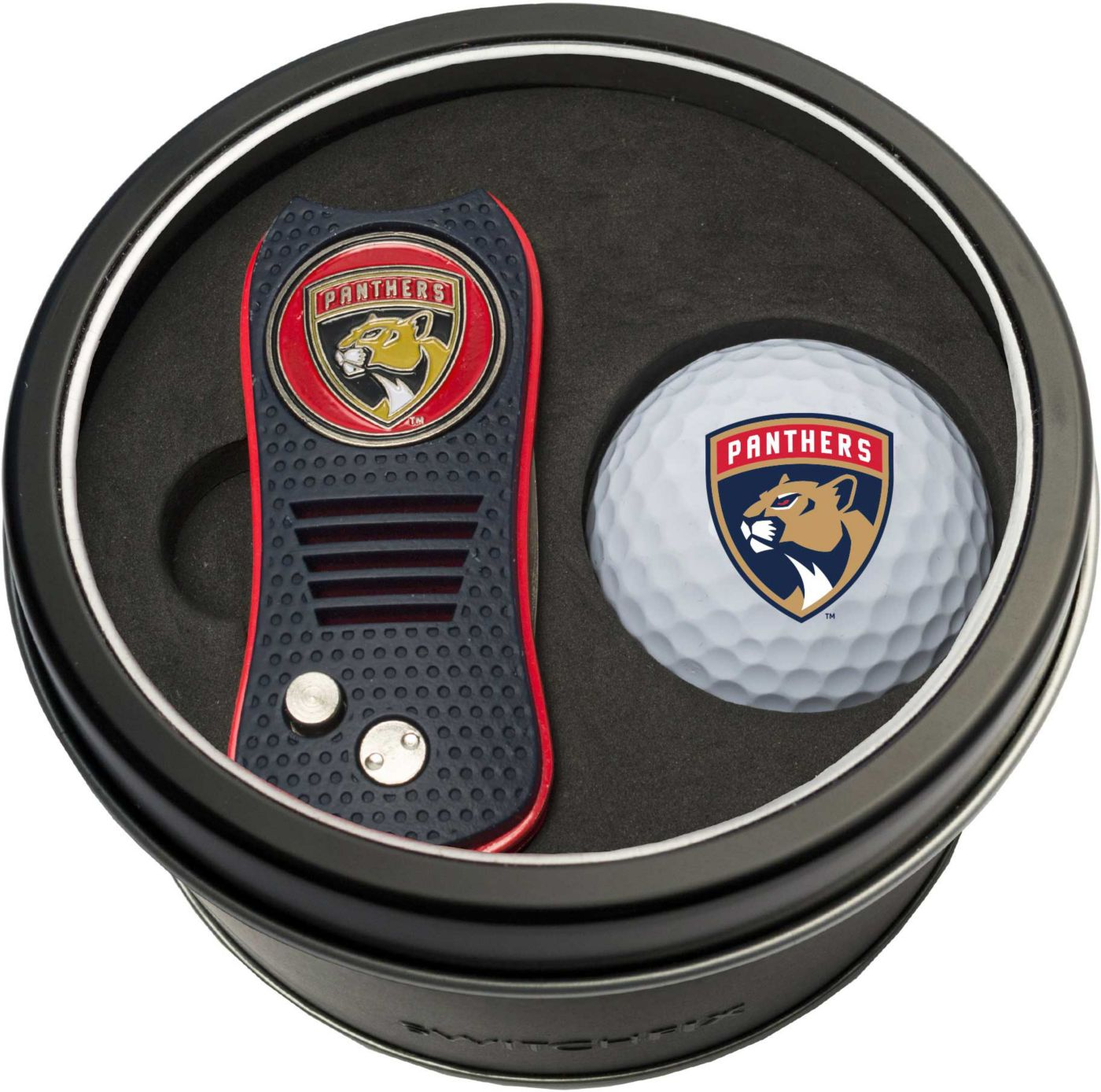 Team Golf Florida Panthers Switchfix Divot Tool and Golf Ball Set