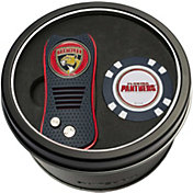 Team Golf Florida Panthers Switchfix Divot Tool and Poker Chip Ball Marker Set