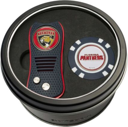 Team Golf Florida Panthers Switchfix Divot Tool and Poker Chip Ball Marker Set